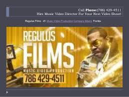 Miami Video Production Miami Video Production Services Company Regulus Films