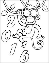coloring 2016 monkey 2016 7
