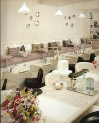nail salon pedicure lounge interior design idea in scottsdale