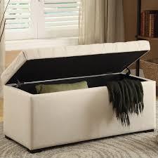 linen storage ottoman bench tufted storage bench linen fabric sah3917 x14