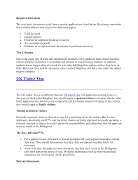 best ideas of how to write a covering letter for uk visa for