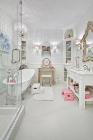 refined london bathroom with shabby chic victorian styles and