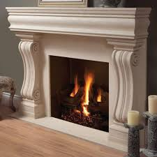 Laminate Flooring Fireplace White Concrete Fireplace Under Wall Mounted Tv Combined With F