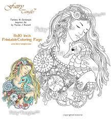 135 fairy tangels met patroon images digi