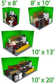 Storage Locker Units by 5 X 10 X 8 Storage Unit Storage Decoration
