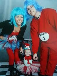 2 Halloween Costumes Dr Seuss Family Baby Rylan Rayne Halloween