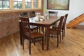 anniversary table and 4 side chairs merlot levin furniture