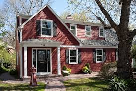 exterior paint colors with red brick video and photos