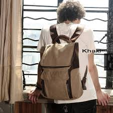 Rugged Leather Backpack Rugged Tough Canvas Leather Backpacks For Mens 89 80 Notlie