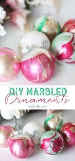 room decoration handmade diy ornaments marbled