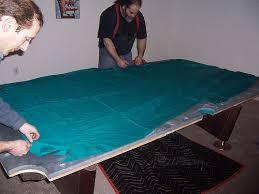 change pool table felt pool table cloth cutting