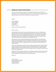 grant writing cover letter letter of request for funding sample
