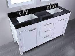bathroom vanities cool rectangle ultra modern double sink