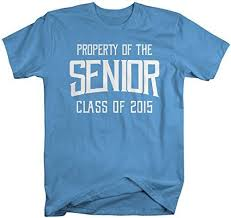 2015 graduation shirts men s property of senior class 2015 t shirt graduate shirts