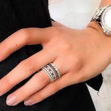 Stacked Wedding Rings by 34 Best Push Present Images On Pinterest Jewelry Diamond Bands