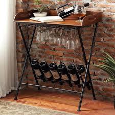 iron wine rack table u2013 excavatingsolutions net