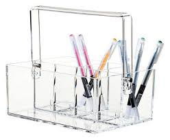 Clear Desk Organizer Clear Desk Organizer Clear By Nomess
