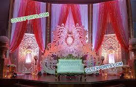 wedding backdrop panels jhrokha panel wedding stage backdrop dstexports