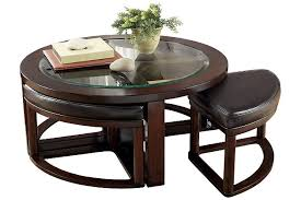 coffee table with four ottoman wedge stools marion coffee table ashley furniture homestore