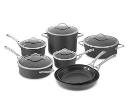 Can You Use Calphalon Cookware On An Induction Cooktop Calphalon Contemporary Nonstick 12 Piece Cookware Set Williams
