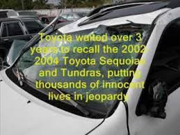 2001 toyota sequoia frame recall toyota avoids recall for known sequoia joint issue