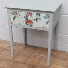 shabby chic painted bedside tables