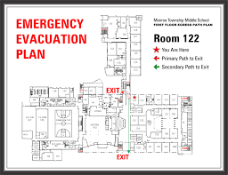 Evacuation Floor Plan Template Corporate Archives Project Sign Architectural Signageproject
