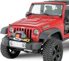 jeep yj winch warn winch mounting plate for 07 17 jeep wrangler u0026 wrangler