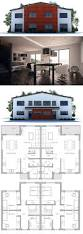 44 best duplex house plans images on pinterest duplex house