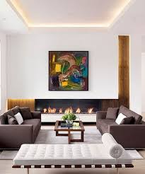Wohnzimmer Ideen Braunes Sofa Moderne Elegante Wohnzimmer Charme Minimalistischen Wohnzimmer