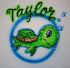 custom spray paint shirts airbrushed t shirt turtle custom airbrush t shirts personalized