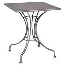 Square Bistro Table Outdoor Woodard Solid Top Square Bistro Table 13l4sd24 58 Tops