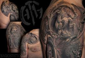 tattoo cover up on black skin biagio s tattoo gallery tattoos black and gray surreal armor