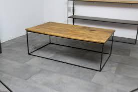 Table Repas Style Industriel by Table Basse Loft Industeel