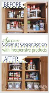 Organising Kitchen Cabinets by Spice Cabinet Organization From A Bowl Full Of Lemons Our Spices