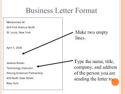 block letter format sample letter in block format noc letter good