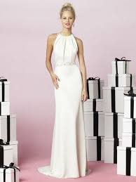 different options with long dresses for wedding guest