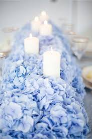 Centerpieces With Candles For Wedding Receptions by Top 25 Best Blue Centerpieces Ideas On Pinterest Blue Flower