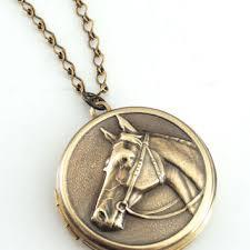 horse necklace pendant images Best handmade horse jewelry products on wanelo jpg