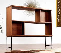 Mid Century Room Divider Mid Century Modern Bassett Room Divider Bookcase