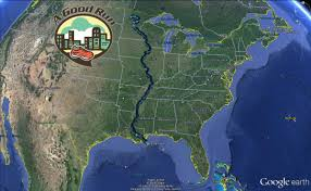 Map Of Mississippi River 2016 Running Trip U2013 50 Miles 50 Cities U0026 7 Days Covering The