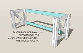 Build A Wooden Computer Desk by Remodelaholic Custom Computer Desk Plans