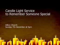 light a candle for someone candlelight service to remember someone special