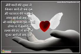 Feeling Of Love Quotes by Best Love Shayari In Hindi With Hd Wallpapers Brainyteluguquotes