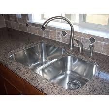 undermount stainless steel kitchen sink impressive 31 inch stainless steel undermount 60 40 double bowl
