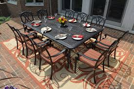 12 person outdoor dining table excellent impressive square outdoor dining table for 8 room in
