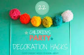 Decorating Hacks 22 Kids U0027 Party Decorating Hacks Every Parent Should Know Goodtoknow