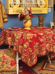 tablecloth brick attic sale linens kitchen
