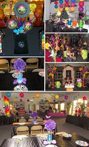 glow in the party ideas for teenagers rainbow mad hatter in party soiree
