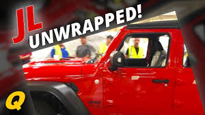 jl jeep diesel leaked 2018 jeep wrangler jl unwrapped youtube